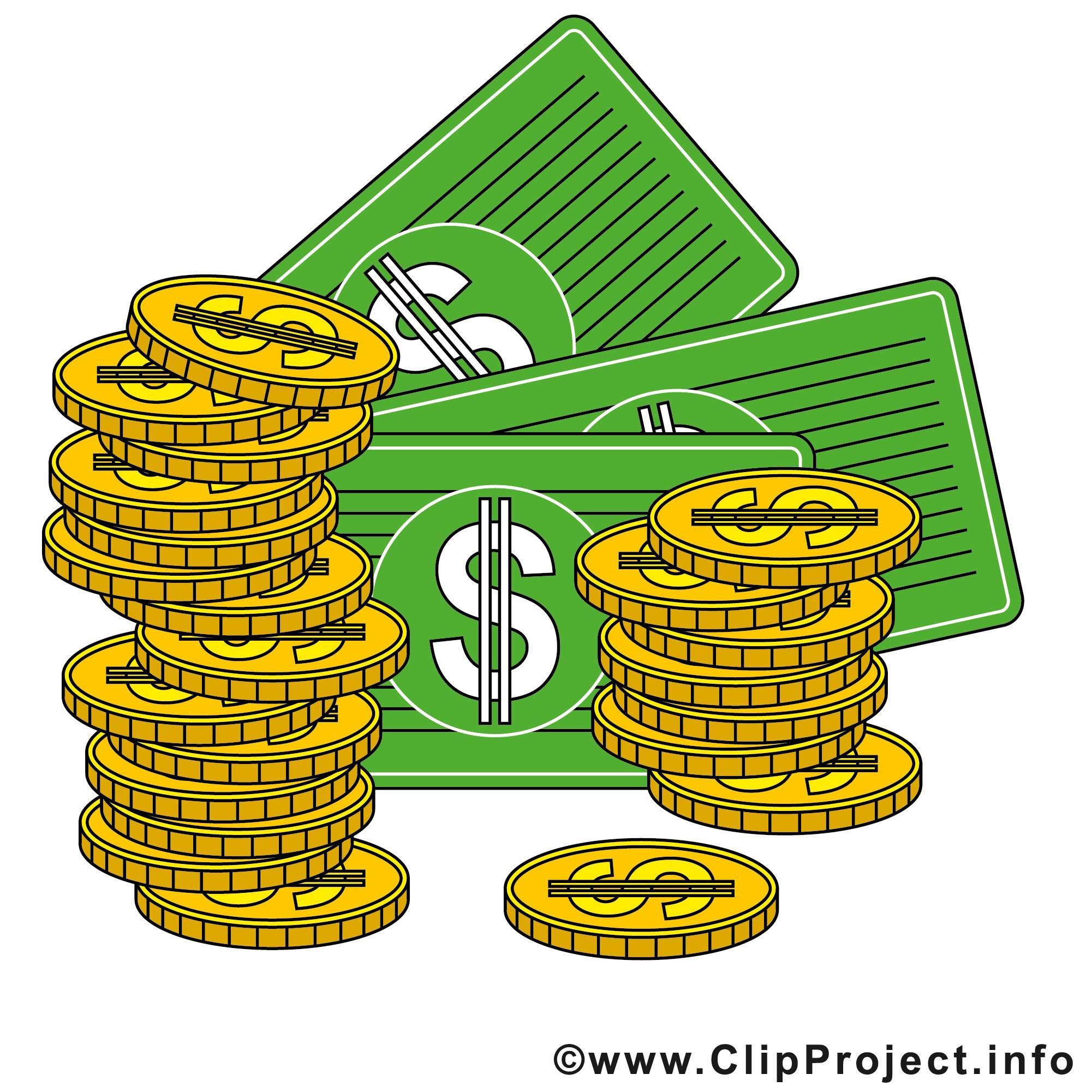 Money Gallery Clipart