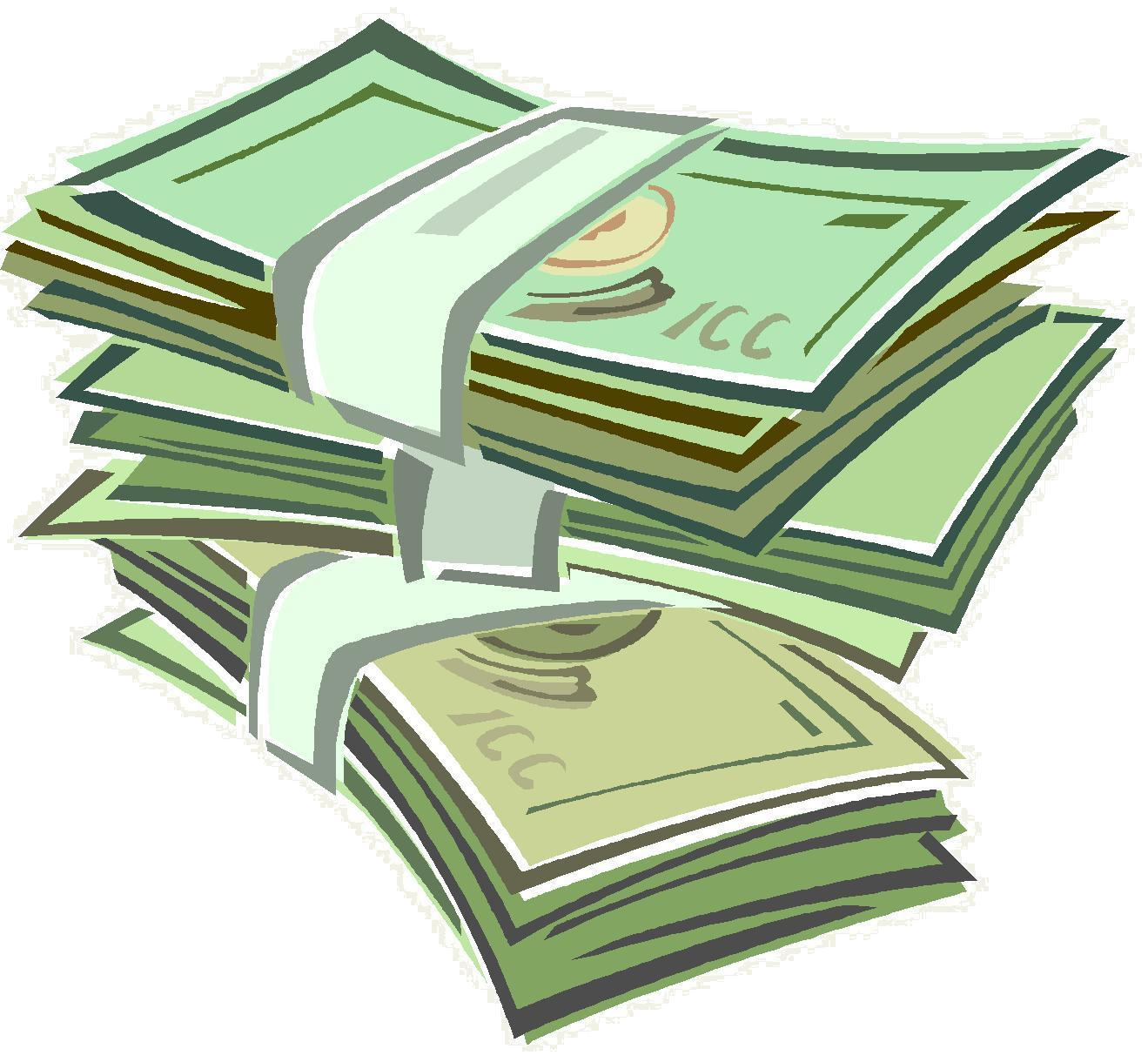 Money Stack Clipart