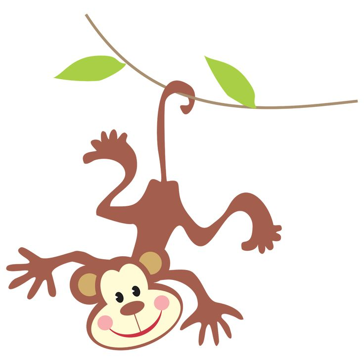 Monkey clipart cute and beautiful, Monkey animal clip art black and white pictures. Download free Monkey photo, images png vector from