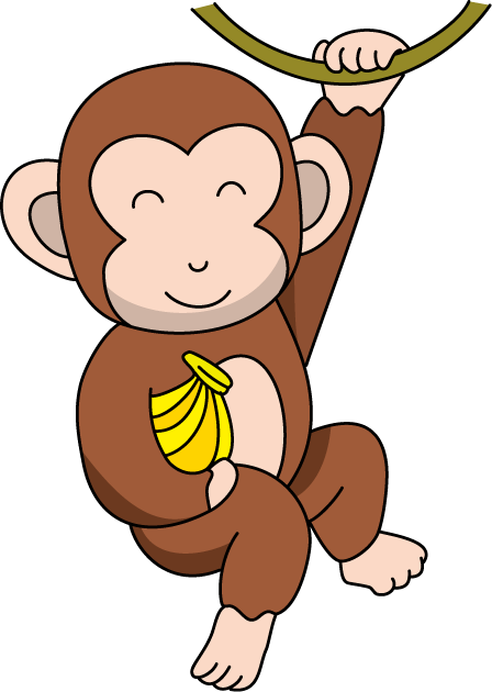 Monkey clipart free clipart