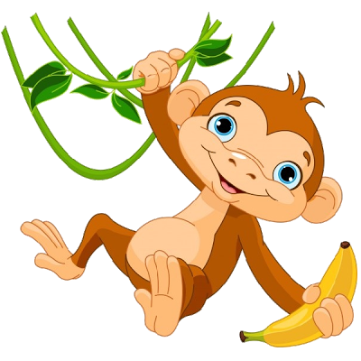Monkey clipart, Monkey animal .