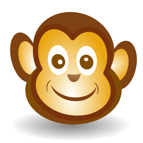 monkey face clip art best monkey face clipart 12608 clipartion clip art for  students