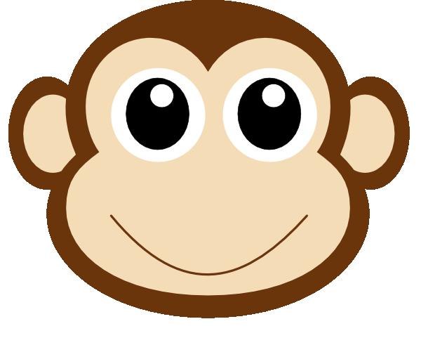 Monkey Face Clipart Monkey 1 Clip Art At Clker Vector Clip Art Online  Royalty Clipart
