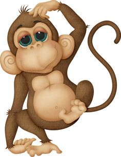Monkey. Free Gorilla Clip Art .