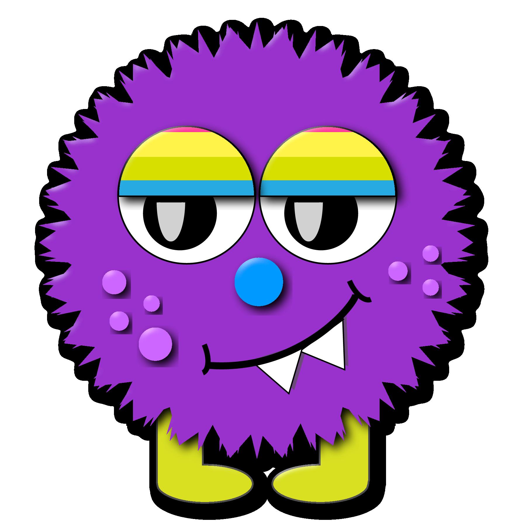 Monster clip art cartoon free clipart images 6
