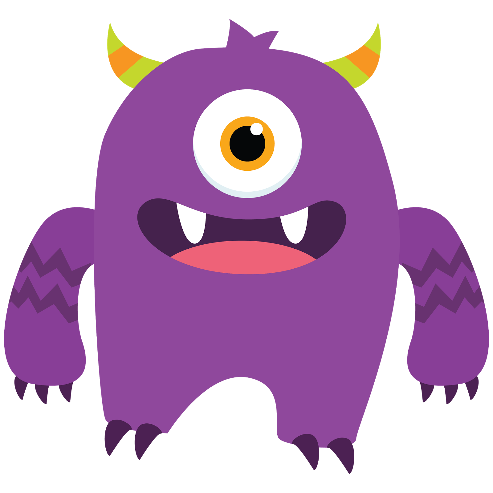 Monster clipart free clipart images