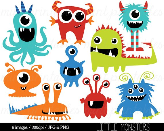 image 0 - Monster Clipart