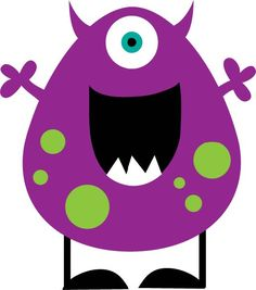 Little monster clipart - Wiki - Monster Clipart