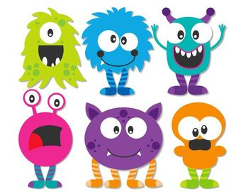Monster Clip Art,Monster Mash Clipart,Halloween Clipart,Monster Clipart  Cute,Monster Clipart for Kids,Monster Clipart Halloween,Baby Monster