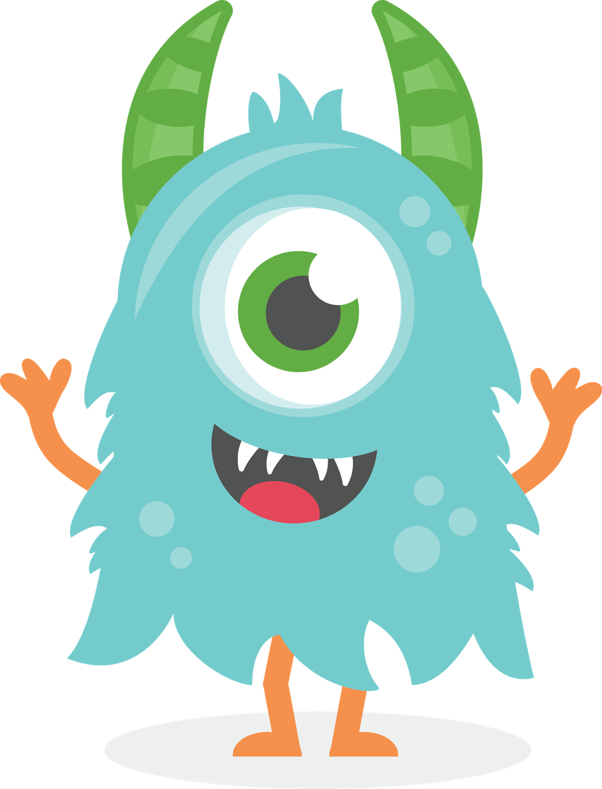 monster clipart cute - Pesqui - Monster Clipart