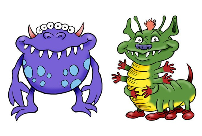 send you 30 original cute monster clip art images - fiverr