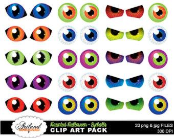 monster eyes clip art Gallery