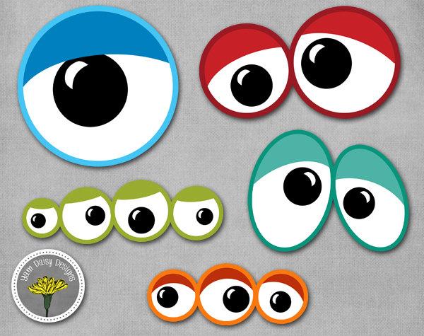 ... Monster Eyes Clipart - clipartall ...