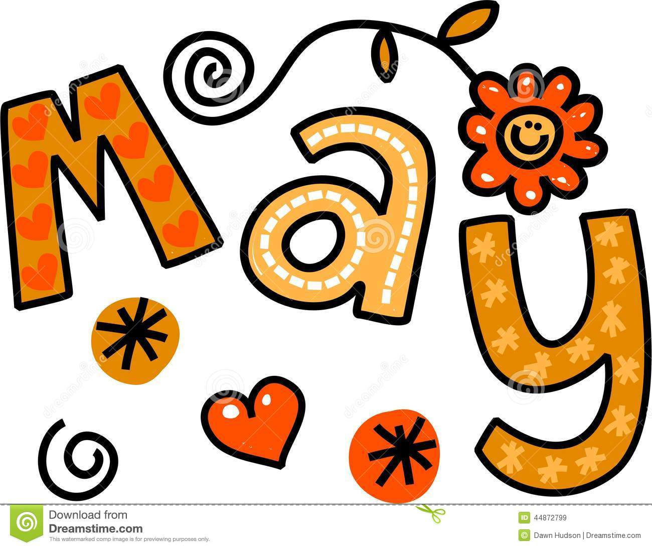 Month May Clipart Free Large Images