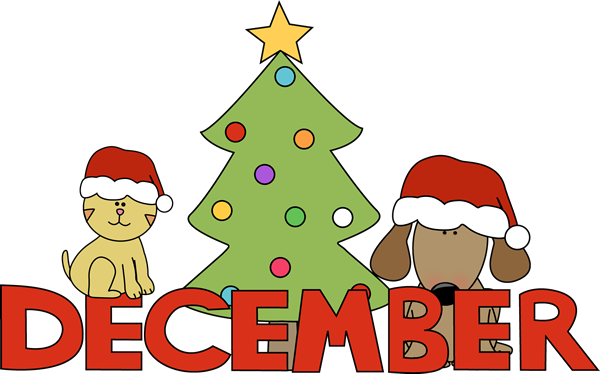 Month of December Christmas Pets