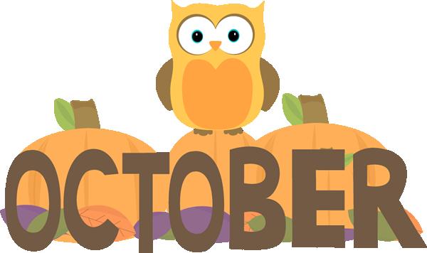 Month Of October Owl Clip Art ..