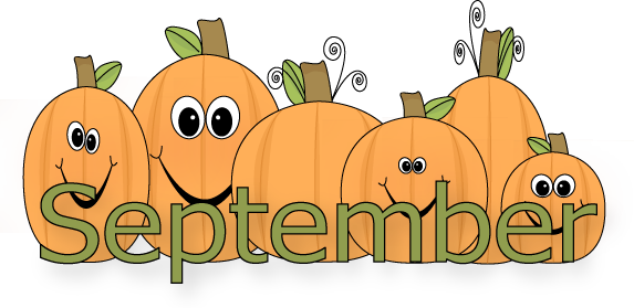 Month Of September Clipart