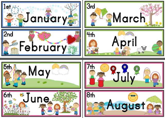 Months of The Year Clipart. months 2013 thmb .