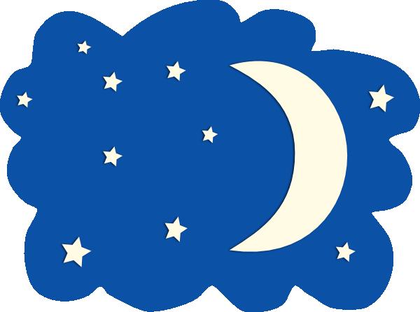 Moon And Stars Clip Art At Clker Com Vector Clip Art Online Royalty
