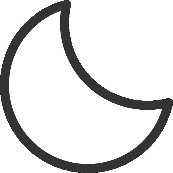 Moon Clip Art Crescent Moon ... crescent moon clipart% .