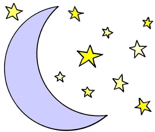 Moon And Star Clipart Moon And Star Clipart Clipartxtras Free Moon Clipart