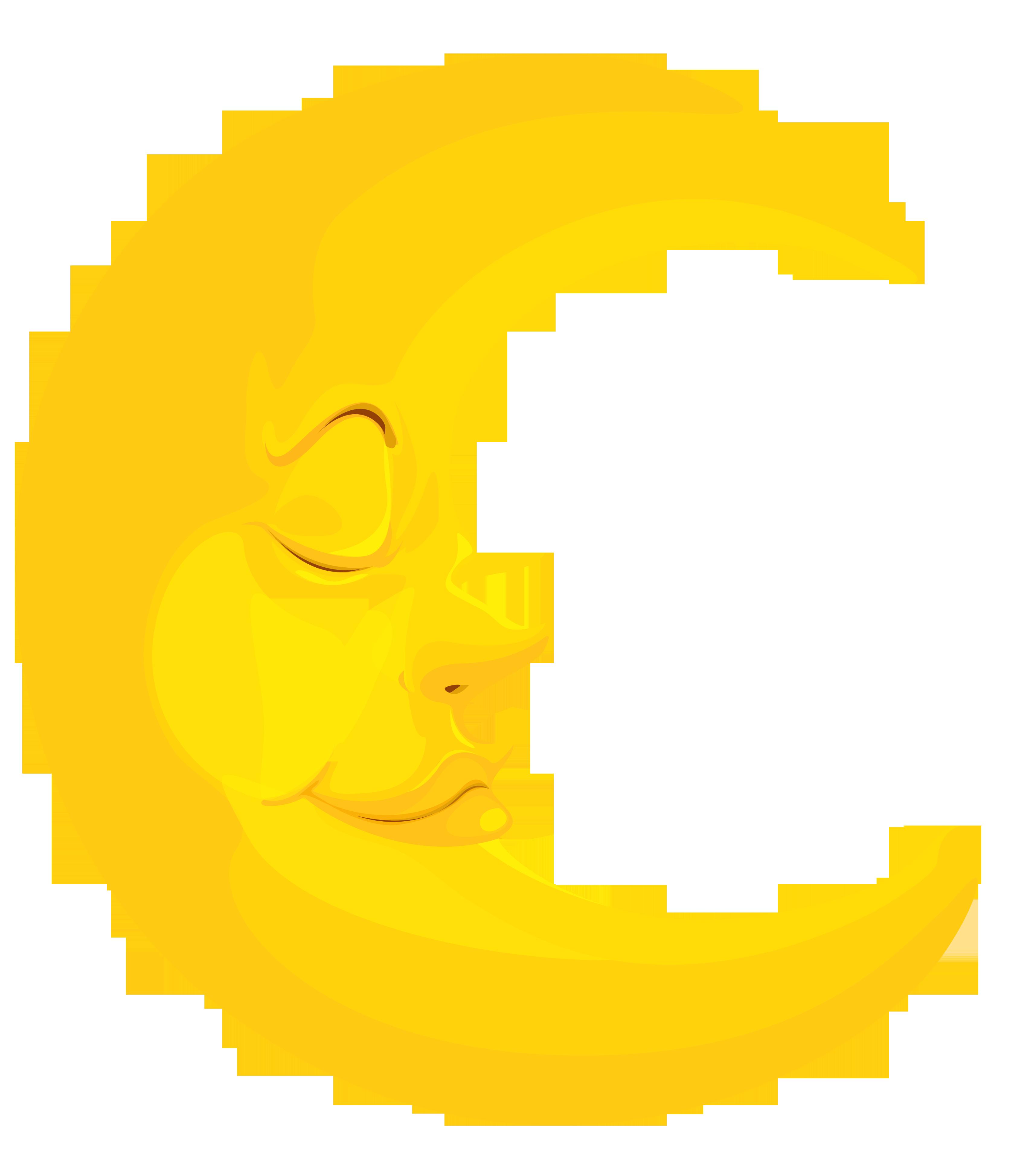 Moon Clip Art 1