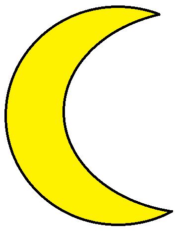 Moon Clip Art - PNG Image #11285