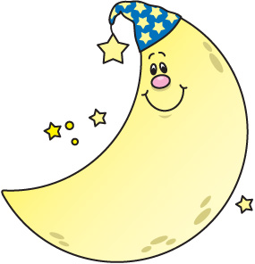Moon Coloring Clipart Cliparthut Free Clipart