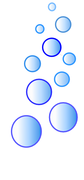 More Blue Bubbles Clip Art At Clker Com Vector Clip Art Online