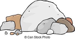 ... More Boulders - A pile of different boulders and rocks. More Boulders Clip Artby ...