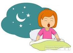 morning girl wake up clipart - Google Search