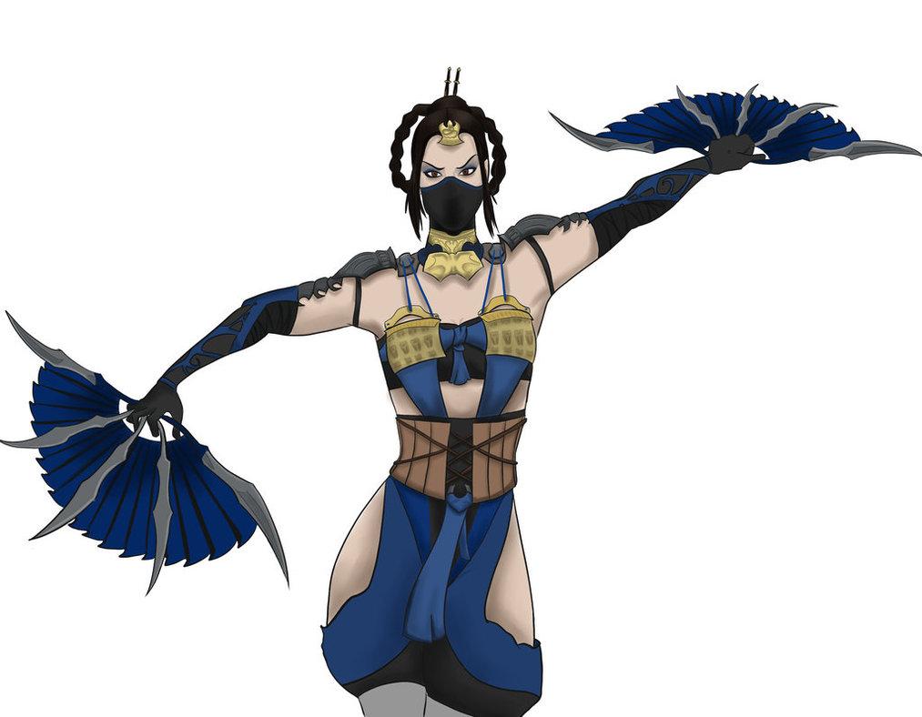 Kitana - Mortal Kombat X by livingdeadjohn ClipartLook.com