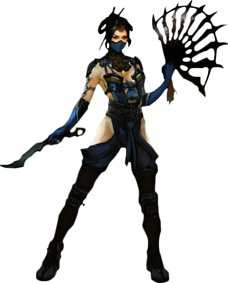 Kitana Mortal Kombat X Render by xXKyraRosalesXx ClipartLook.com