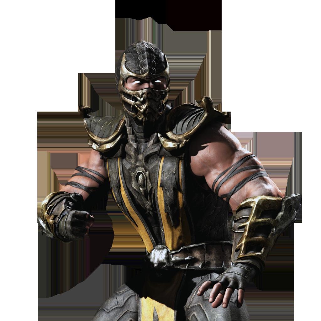 Mortal Kombat Scorpion PNG Clipart