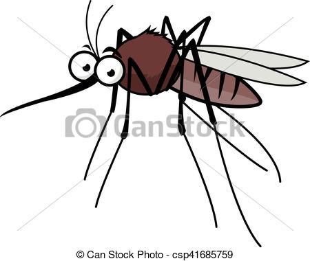 Cartoon mosquito - csp41685759