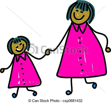 ... mother and daughter - happy asian mother and daughter... ...