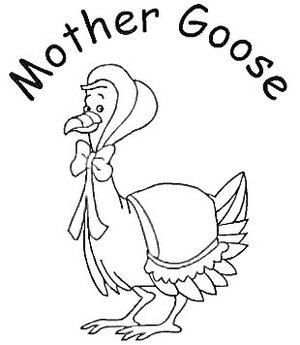 Mother Goose Day happy Mother .