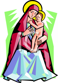Mother Of Jesus Clipart-Clipartlook.com-244