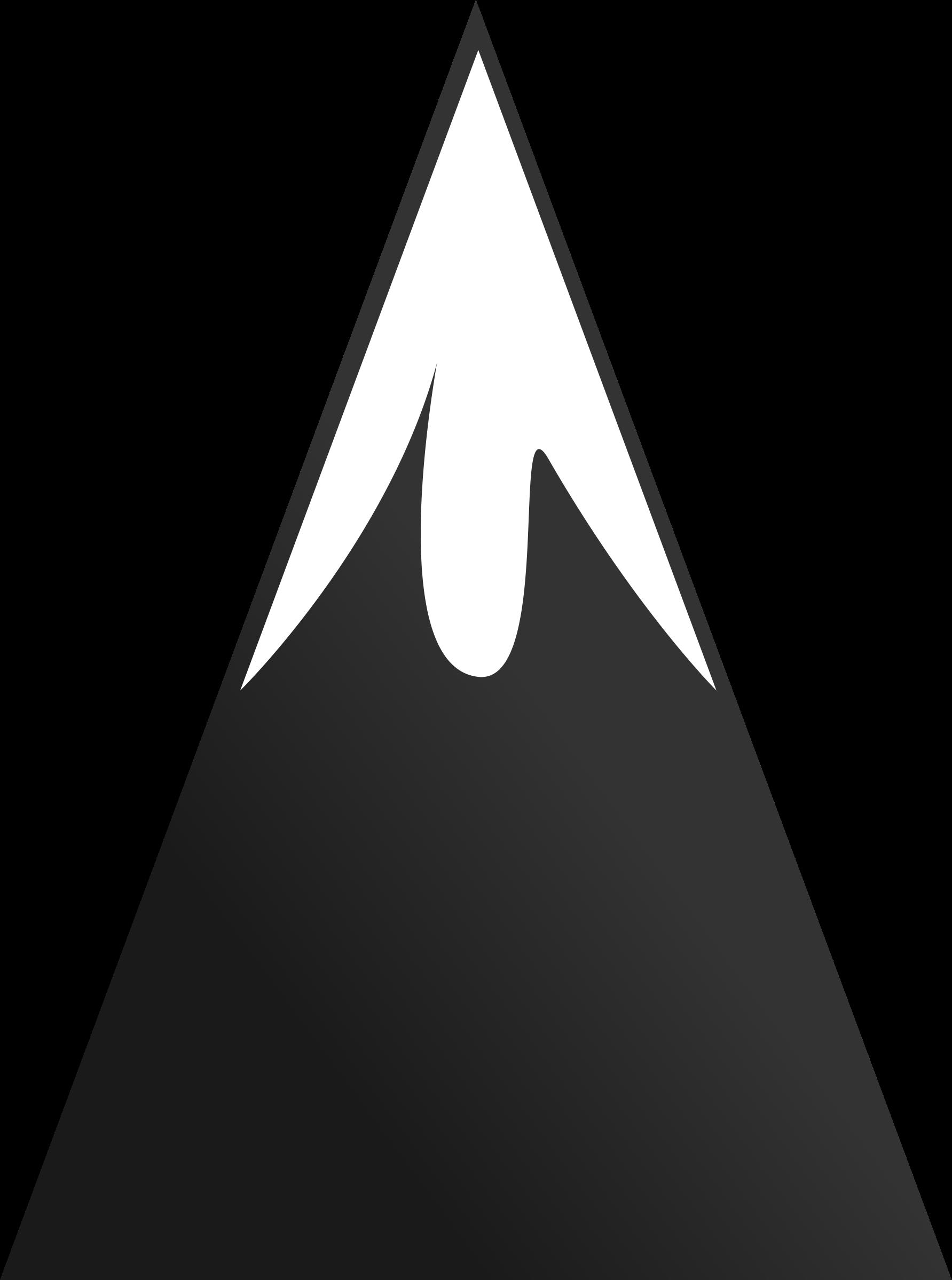 Mountain clip art at vector clip art image 8