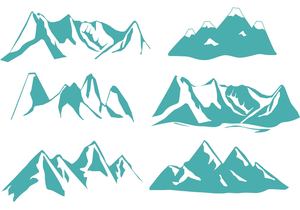 Free Rocky Mountain Clipart Image