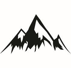 Mountain Side #3 Rock Climbing Climb Skiing Colorado Rockies Alps Snow Cap  Nature Logo .