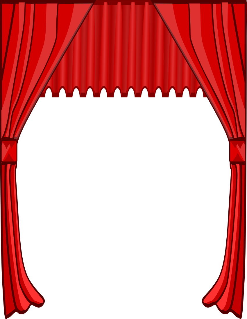 movie theater clipart border