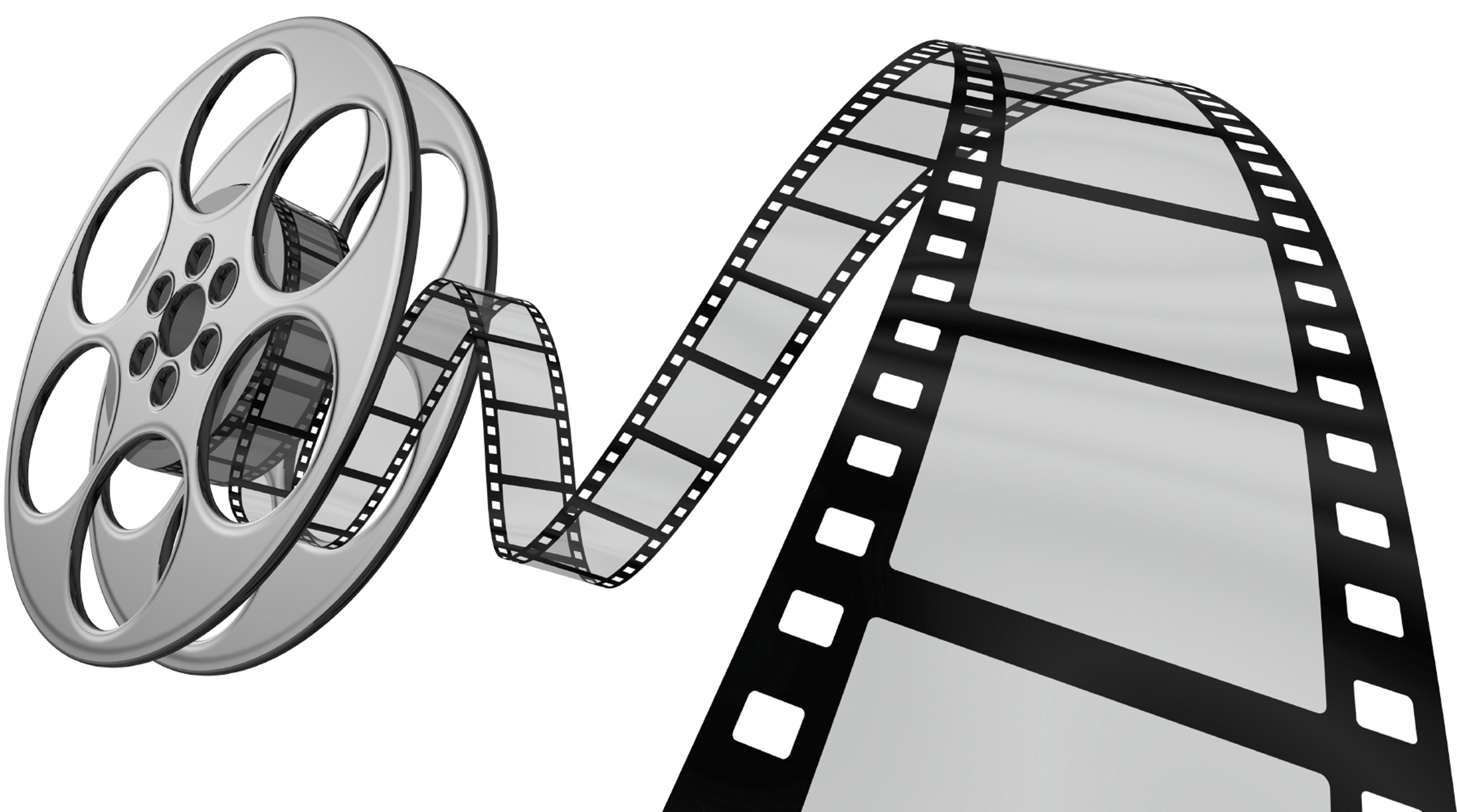 Movie film roll clipart
