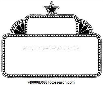 movie marquee clip art Gallery