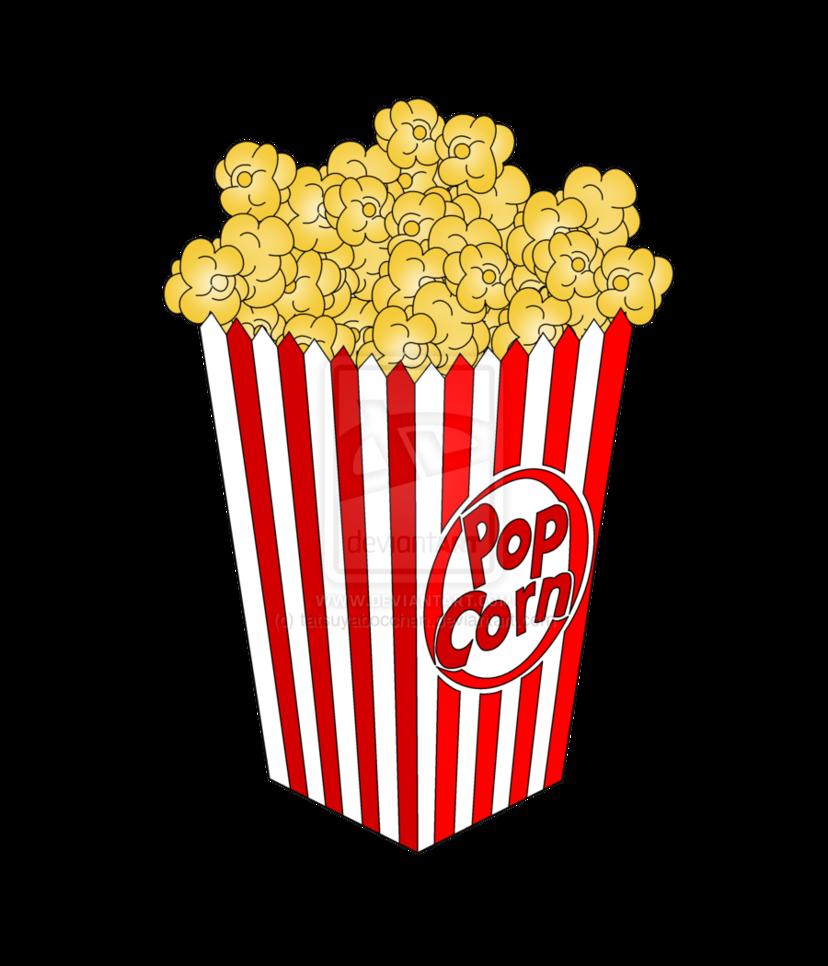 Movie Popcorn Png Popcorn By .