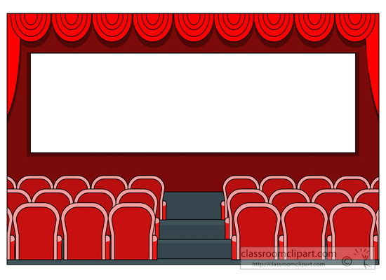 Movie Theater Free Clipart #1