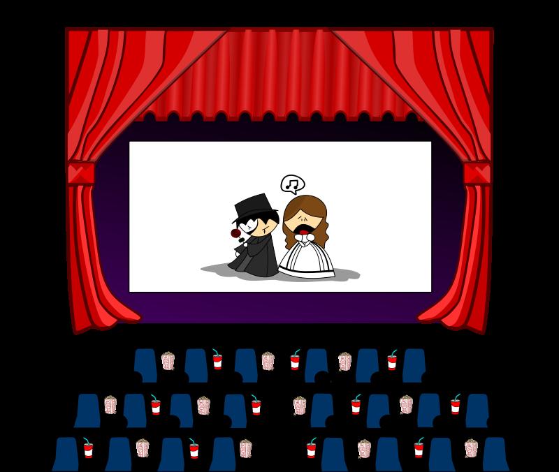 Movie Theatre Clipart