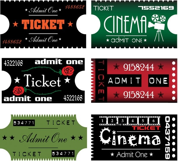 movie ticket clip art