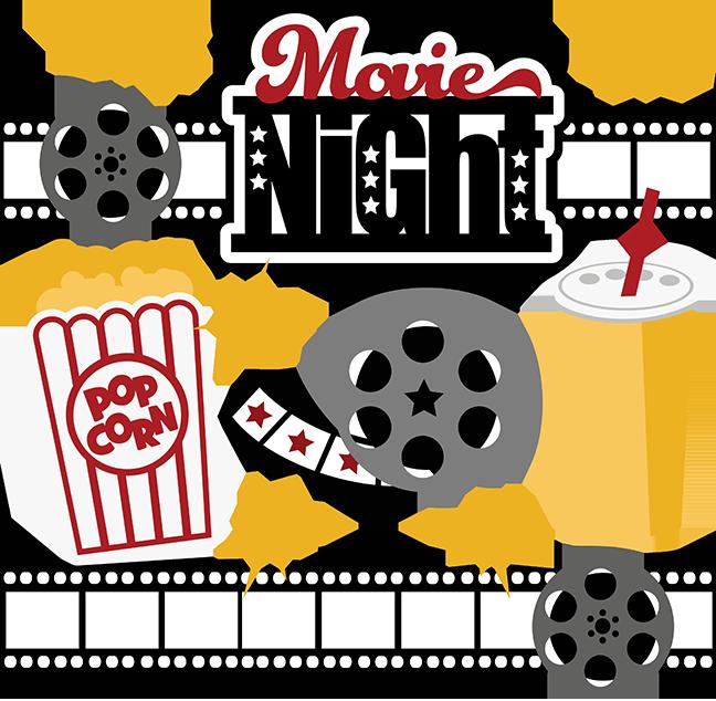 Movies ticket button clip art .