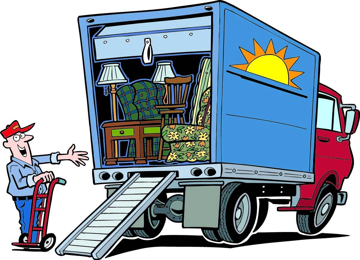 Moving company clipart
